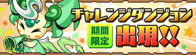 【パズドラ】第39回チャレンジダンジョンレベル10【覚醒無効】ノーコン攻略