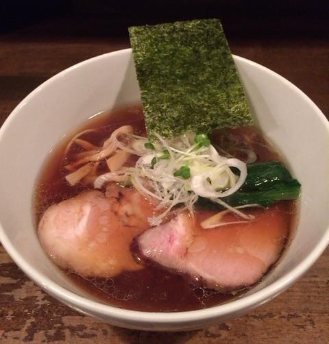 【ラーメン】日本橋 製麺庵 なな蓮(三越前)の支那そばが絶品